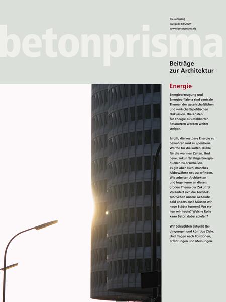 betonprisma Energie