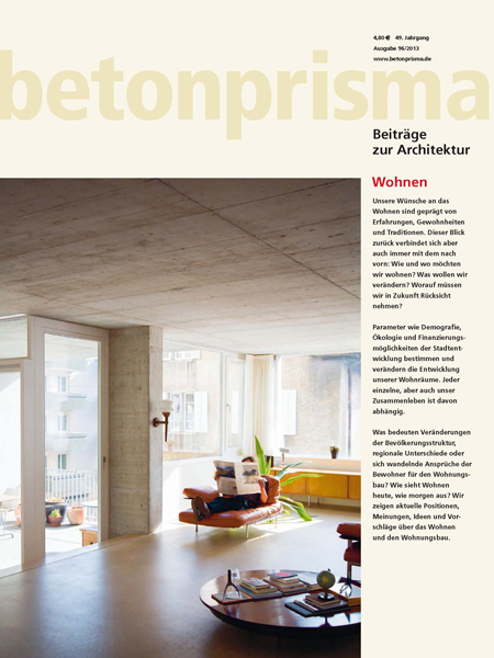 betonprisma Wohnen
